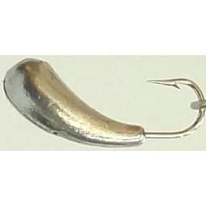 Мормышка литая Marlin's УРАЛКА 0.26г  №1, кр.Crown  (10), 100  ник