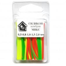Кембриков набор ПМ WinterHouse МИКС 45мм силикон 0.5/0.8/1/1.5/2мм (12)