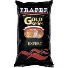 Прикормка Traper GOLD Expert черн. 1кг