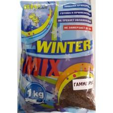 Прикормка зим БИО-Клев готов WINTER MIX гаммарус 1кг