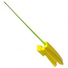 Удочка зим Кобылка пенопласт, желт