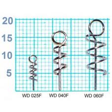 Спираль Fish Season с направляющей д/фиксац на крюч силикон.прим (ухо3мм) 2,5мм 10шт