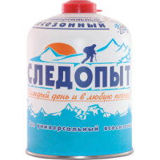 Картридж газ Следопыт 450г резьб -20/+35 (12)