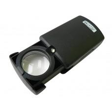 Лупа Следопыт 30х, D21 с подсвет, батарейки в компл, SM-03L